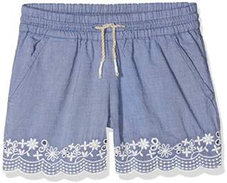 Benetton Girl's Short, (Sky Blue 901), One (Size: X-Small)