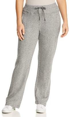 Andrew Marc Plus Metallic Sweatpants