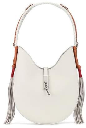 Altuzarra Ghianda Bullrope Hobo Small leather shoulder bag