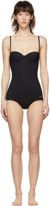 Dolce & Gabbana Black Cup One Piece Swimsuit