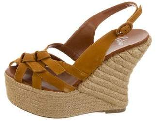 Castaner Suede Slingback Wedges w/ Tags