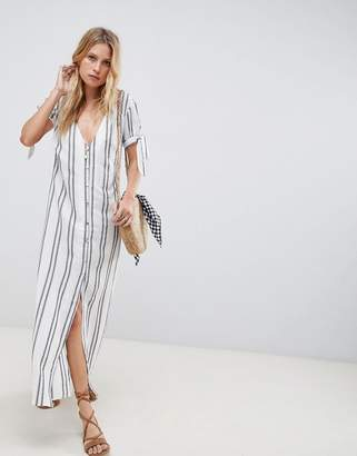 Flynn Skye Button Front Maxi Dress