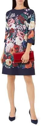 Hobbs London Anoushka Floral Print Shift Dress