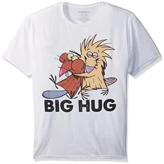 Nickelodeon Men's The Angry Beavers Short Sleeve Graphic T-Shirt