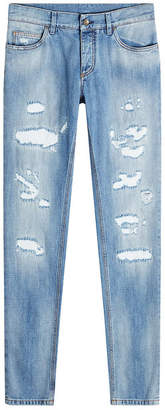 Dolce & Gabbana Distressed Jeans