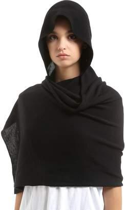 Hood Scarf Wool Hat