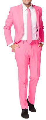 Men's Opposuits 'Mr. Pink' Trim Fit Two-Piece Suit With Tie $99.99 thestylecure.com