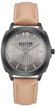 Kenneth Cole Reaction Women's Leather Strap Watch, 36mm