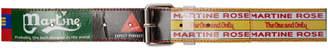 Martine Rose Multicolor Beermat Belt