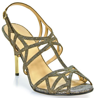 Kate Spade Issa - Strappy Sandals in Bronze