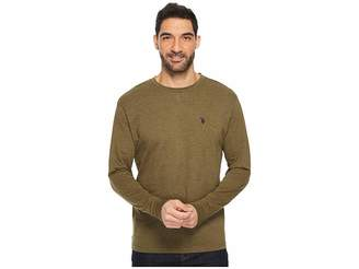 U.S. Polo Assn. Long Sleeve Crew Neck T-Shirt Men's T Shirt