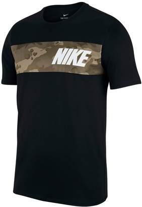 Nike Men's Camouflage Logo Tee