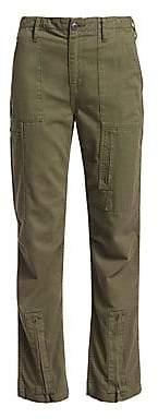 RE/DONE Women's High-Waisted Cargo