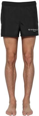 Givenchy Logo Printed Nylon Swim Shorts