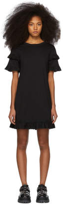 McQ Black Babydoll Dress