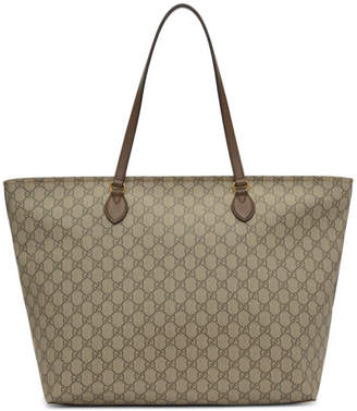 Gucci Brown Ophidia Tote