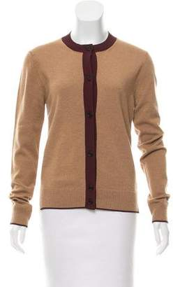 Marni Contrast-Trimmed Cashmere Cardigan