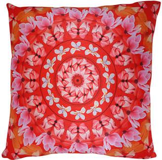 Dragon Optical 88 Mandala Petal Pillow