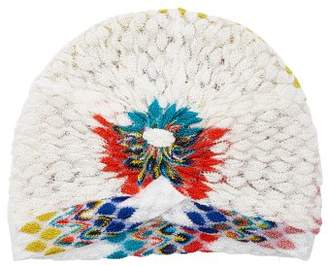 Missoni Mare - Zigzag Knitted Turban - Womens - White Multi