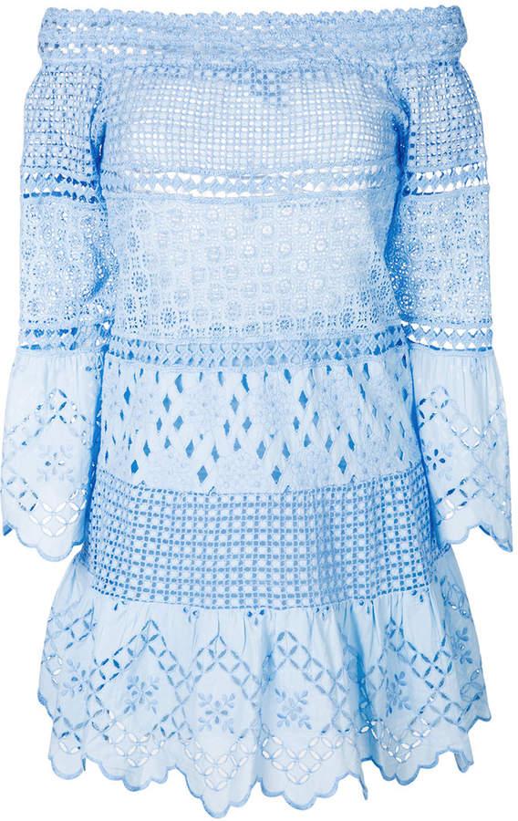 Temptation Positano off-the-shoulder flared dress