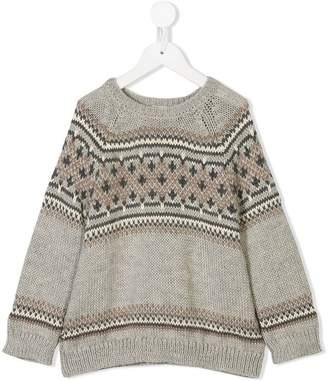 Bonpoint patterned jumper