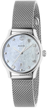 Gucci 29MM G-Timeless Mesh Band Watch