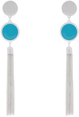 PIPJ0599 Enamel Tassel Earrings