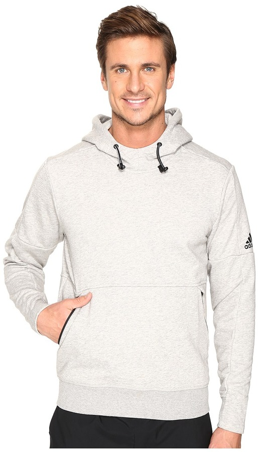 adidas - Sport ID French Terry Pullover Hoodie Men's Long Sleeve Pullover