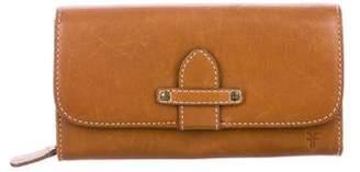 Frye Leather Flap Wallet