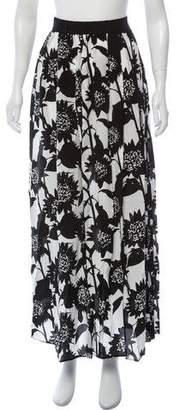 Piamita Silk Maxi Skirt w/ Tags
