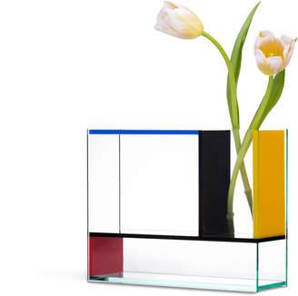 Moma Acrylic Mondri Vase