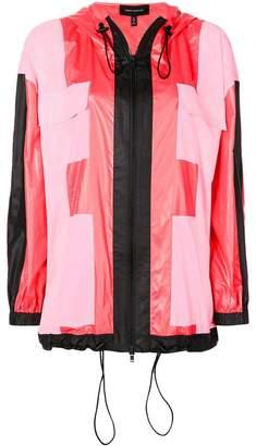 Robert Rodriguez Studio hooded rain jacket
