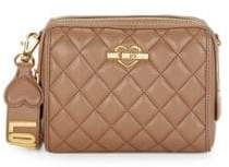 Love Moschino Diamond Quilted Crossbody Bag