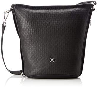 Bogner Soe, Women's Cross-Body Bag, Schwarz (Nero), 14x29x21 cm (B x H T)