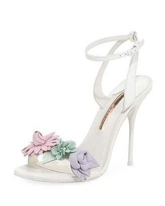 Sophia Webster Lilico Floral Calf Leather Sandal