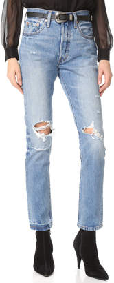 Levi's 501 Skinny Jeans $98 thestylecure.com