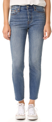 Levi's Wedgie Icon Jeans $88 thestylecure.com