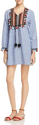 Velzera Tassel Yoke Dress $58 thestylecure.com