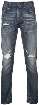 R 13 Keaton ripped jeans