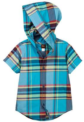 Tea Collection Flynn Hooded Shirt (Baby & Toddler Boys)