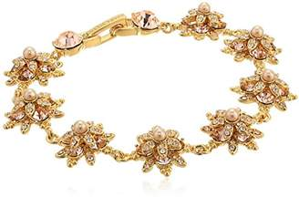 Marchesa stone/Blush/Silk Crystal Star Bracelet