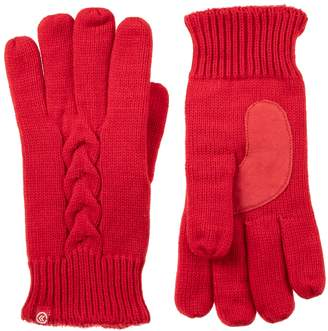 Isotoner Women's Cable-Knit Gloves