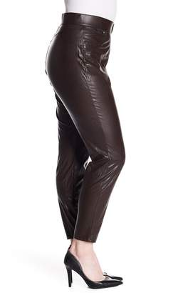 Hue Leatherette Faux Leather Leggings