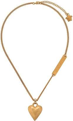 Versace heart motif necklace