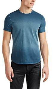 John Varvatos Men's Washed Cotton T-Shirt - Blue