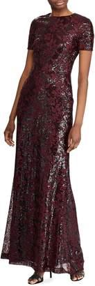 Lauren Ralph Lauren Sequin Evening Gown