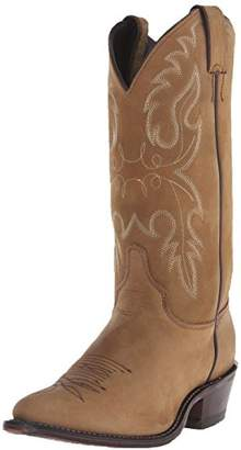 """Justin Boots Women's U.S.A. Classic Western 12"""" Boot Medium Round Toe Leather Outsole"""