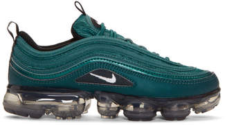 Nike Green Air Vapormax 97 Sneakers