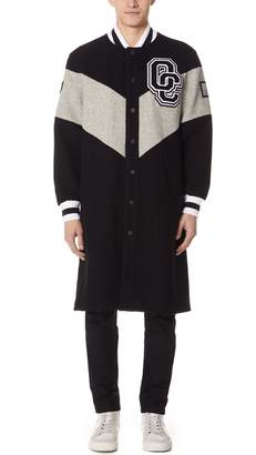 Opening Ceremony Alpha Long Varsity Jacket