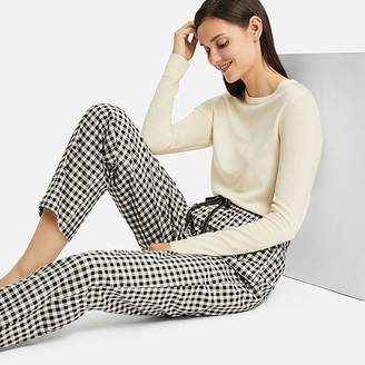 Uniqlo Women's Gingham Checked Flannel Pants